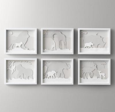Animal Silhouette Art