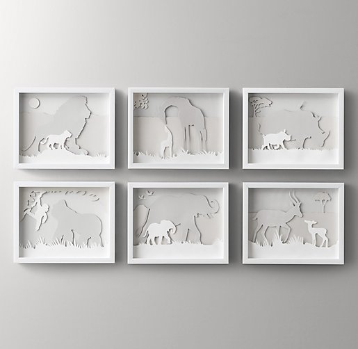 Animal Silhouette Art