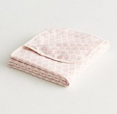 Printed Organic Jersey Layette Swaddle Blanket