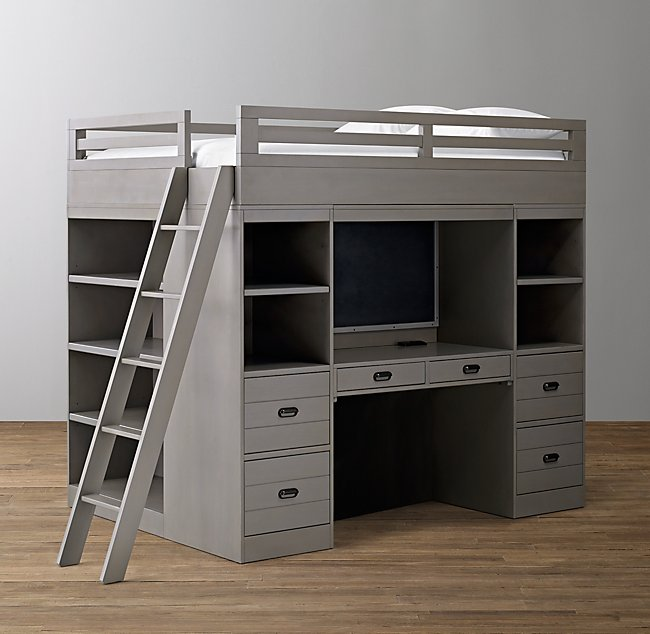 Haven Study & Storage Loft Bed