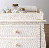 Amira Mosaic Inlay Wide Dresser Topper