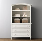 Bellina Dresser & Bookcase Hutch Set
