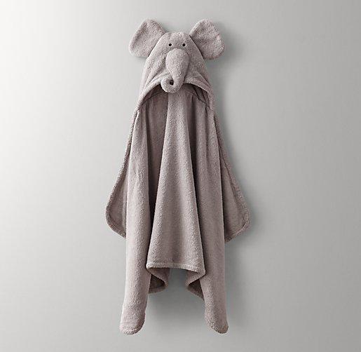 Animal Hooded Towel Baby