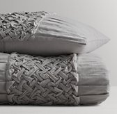 Lattice Braid Duvet Cover
