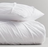 Tiered Voile Duvet Cover