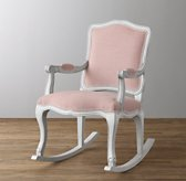 French Vintage Velvet Rocker