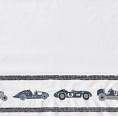 Embroidered Vintage Roadster Sheeting Swatch
