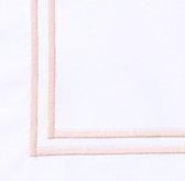 Italian Satin Stitch Bedding Swatch