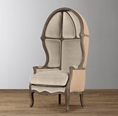 Mini Versailles Upholstered Chair - Burnt Oak
