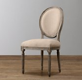 Mini Vintage French Upholstered Chair