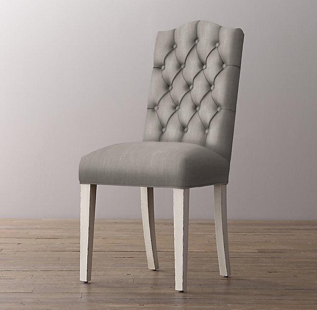 Sensational Tufted Camelback Velvet Desk Chair Aged White Forskolin Free Trial Chair Design Images Forskolin Free Trialorg