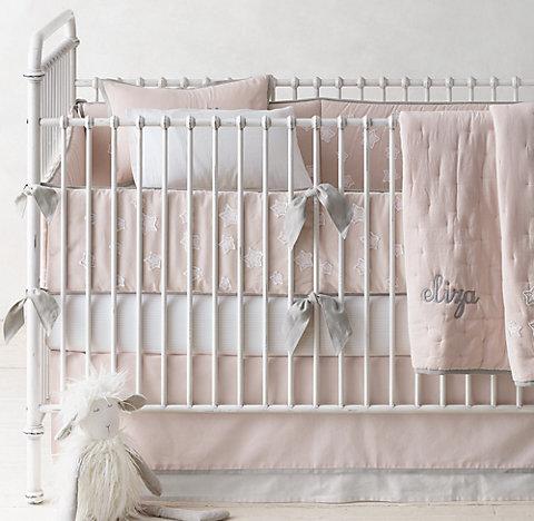 Little Star Liqué Clic Stripe Print Nursery Bedding Collection