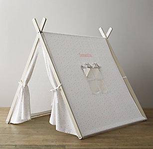 A Frame Indoor Tent Pink Star