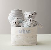 Luxe Knit Baby Gift Set - Bear
