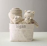 Luxe Knit Baby Gift Set - Monkey