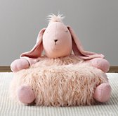 Wooly Plush Bunny Chair