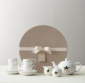 Porcelain Tea Set - Star