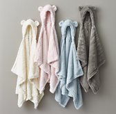 Cuddle Plush Hooded Swaddle Blanket