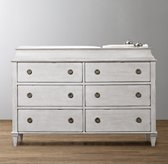 Haylan Wide Dresser & Topper Set