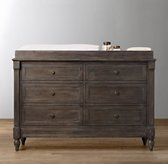 Jourdan Wide Dresser & Topper Set