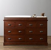 Marlowe Wide Dresser & Topper Set
