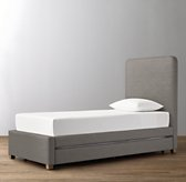 Parker Velvet Bed with Trundle