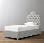 Reese Tufted Bed with Trundle