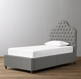 Reese Tufted Velvet 4-Drawer Storage Bed