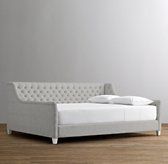 Devyn Tufted Daybed - Frosted White