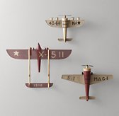 Vintage Model Airplane - Red