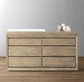 Callum Wide Dresser & Topper Set