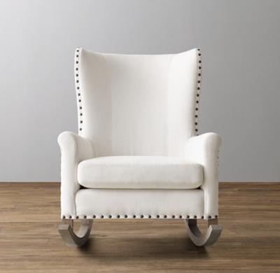 Shown In White Perennials Textured Linen Weave.