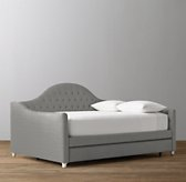 Reese Tufted Velvet Daybed with Trundle