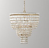 Remi Large Pendant - White
