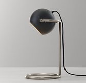 Cecil Task Table Lamp - Black with Aged Pewter