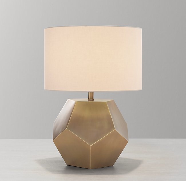 Hendrick Table Lamp Base Aged Brass