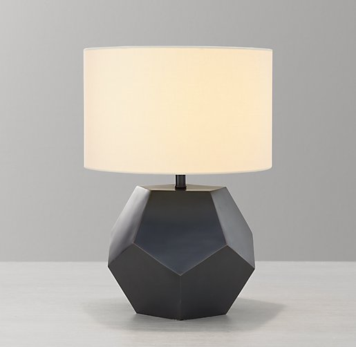 Hendrick Table Lamp Base Aged Bronze