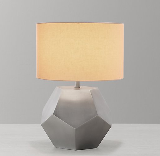 Hendrick Table Lamp Base Aged Pewter