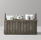 Rutherford Changing Table Caddy Ash