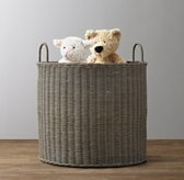 Rutherford Oversized Toy Basket Ash