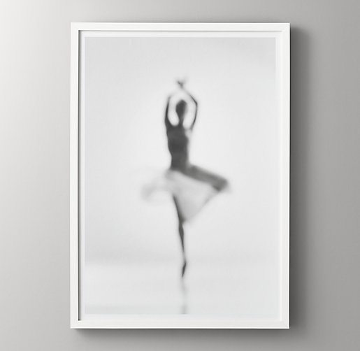 Ballerina Black White Photography Passe