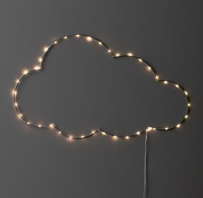 String Lights Headboard