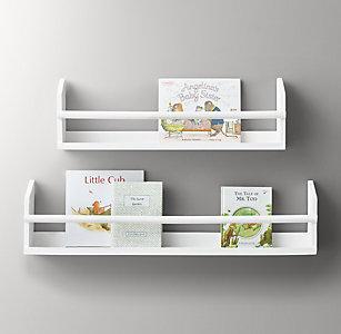 Wood Book Display Shelf