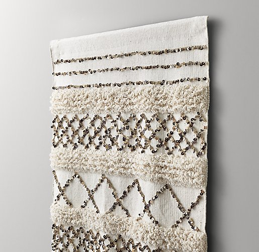 Moroccan Wedding Blanket Tapestry
