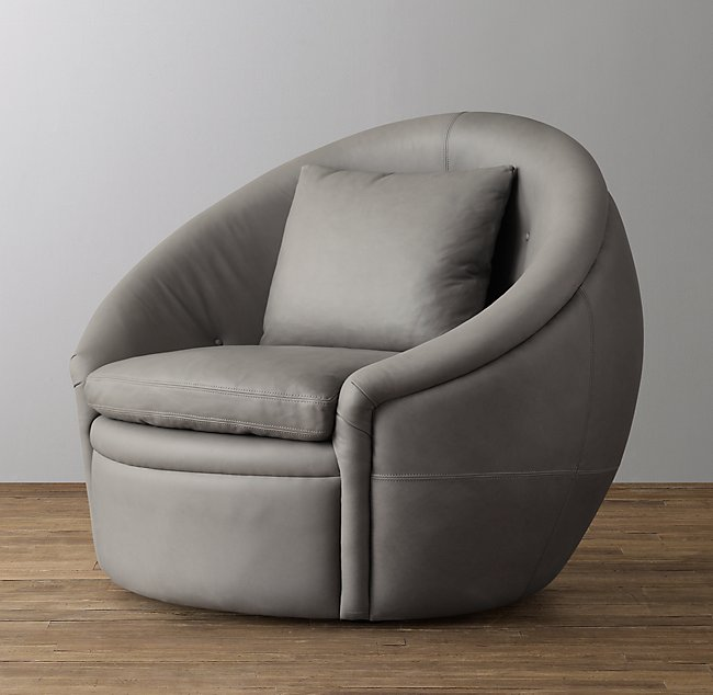Super Oberon Leather Swivel Chair Onthecornerstone Fun Painted Chair Ideas Images Onthecornerstoneorg