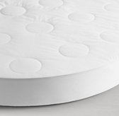Quilted Waterproof Round Crib Mattress Pad