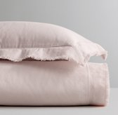 Frayed-Edge Linen-Cotton Duvet Cover