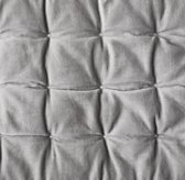 Box-Tufted Velvet Bedding Swatch