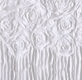 Appliquéd Rosette Voile Bedding Swatch