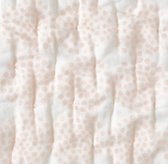 Mali Print Ultra-Fine Organic Cotton Clustered Dots Quilted Bedding Swatch